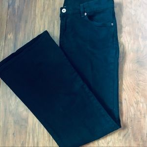 Lucky Brand Black Bell Bottom Jeans Size 14/32